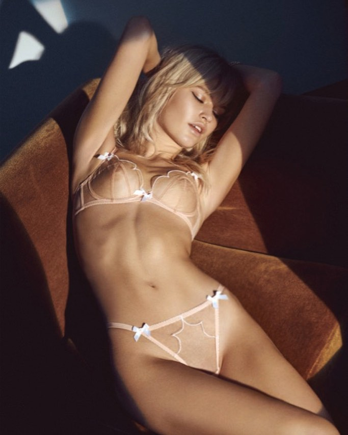 Josefine Justesen in Her Underwear Round-Up!
