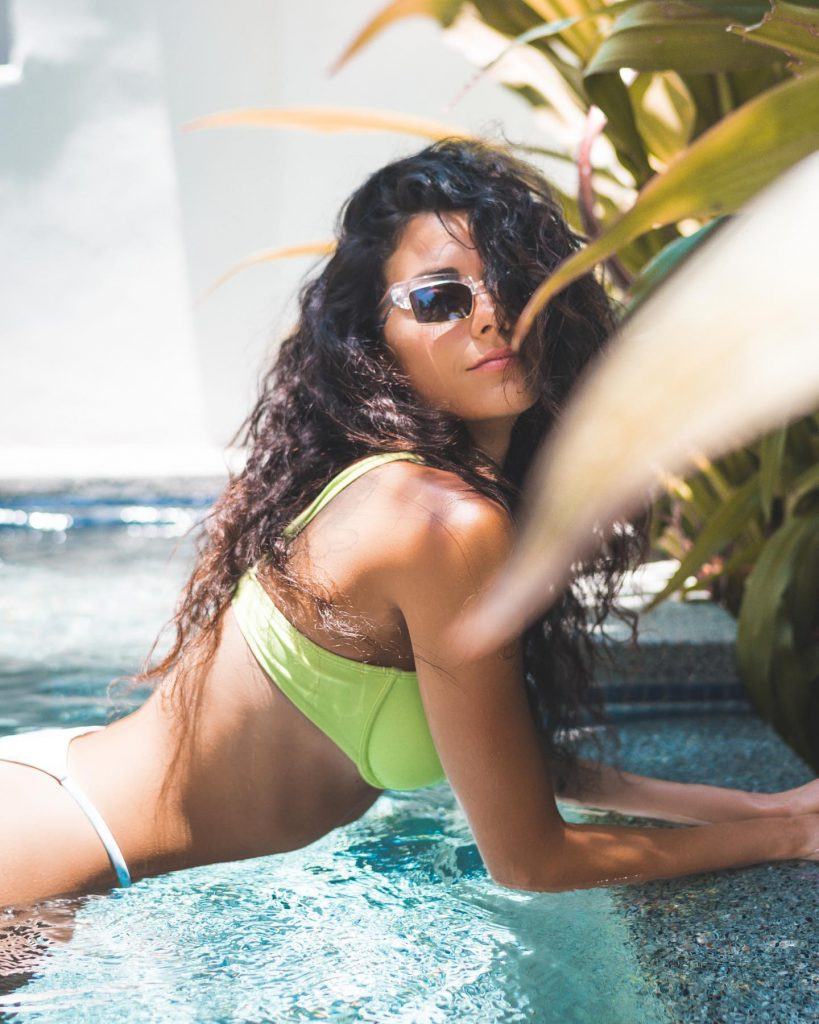 Inbar Lavi Selling In a Bikini!