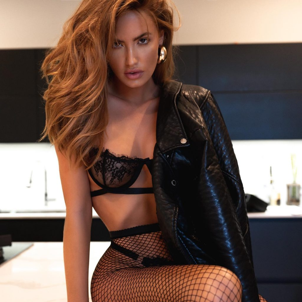 Haley Kalil's Leather and Lace!