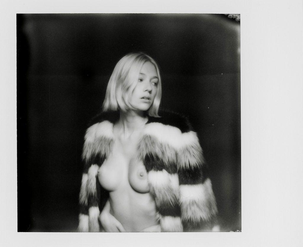 Ella Rattigan Topless in Black and White!