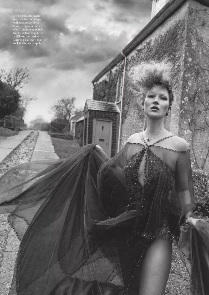 Kate Moss in Vogue UK!