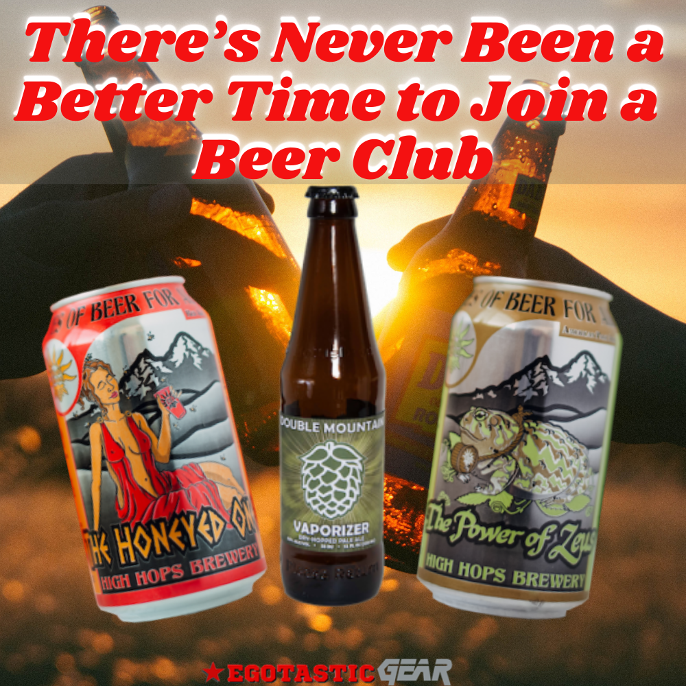 Time to Join a. Beer Club!