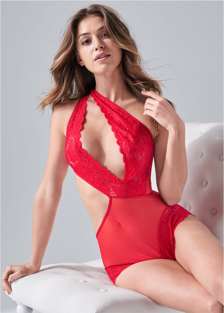 Gigi Paris in a Lingerie Catalog!