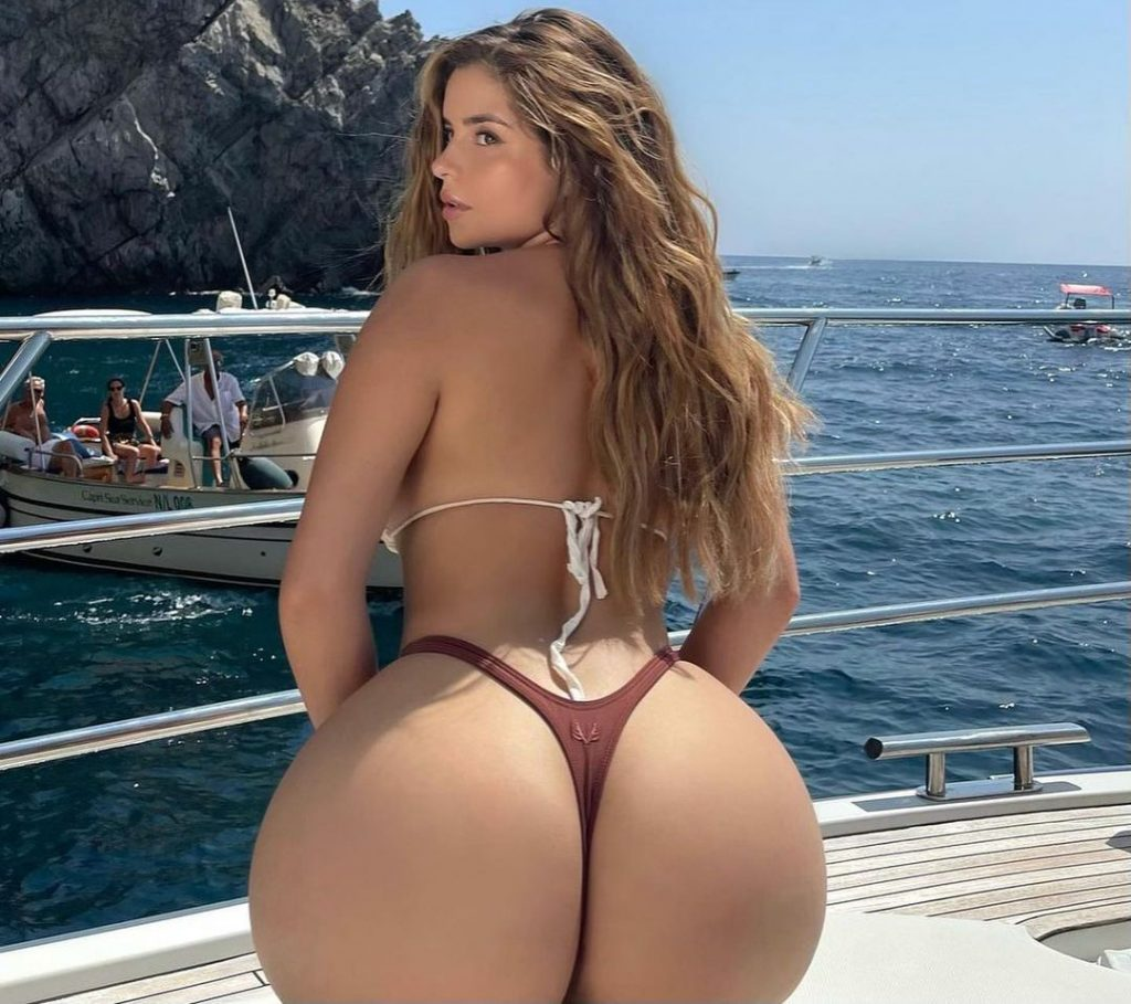 Demi Rose Bares Her Thong!