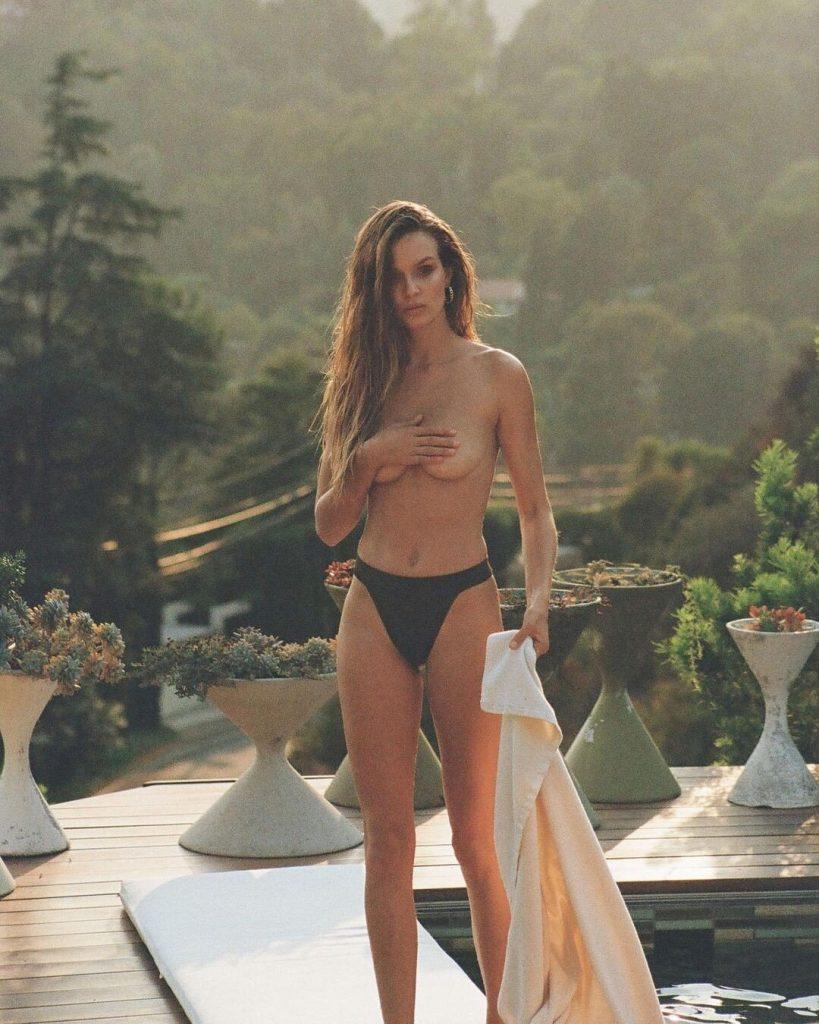 Josephine Skriver's Topless Shoot!